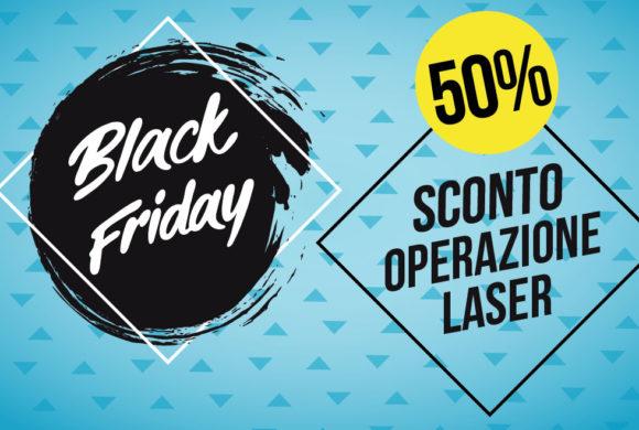 Black Friday: intervento laser agli occhi al 50%